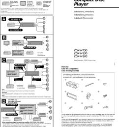 sony cdx gt56ui wiring harness key [ 1689 x 2374 Pixel ]