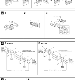 page 3 of 4 sony sony cdx f5500 installation instructions  [ 1630 x 2312 Pixel ]