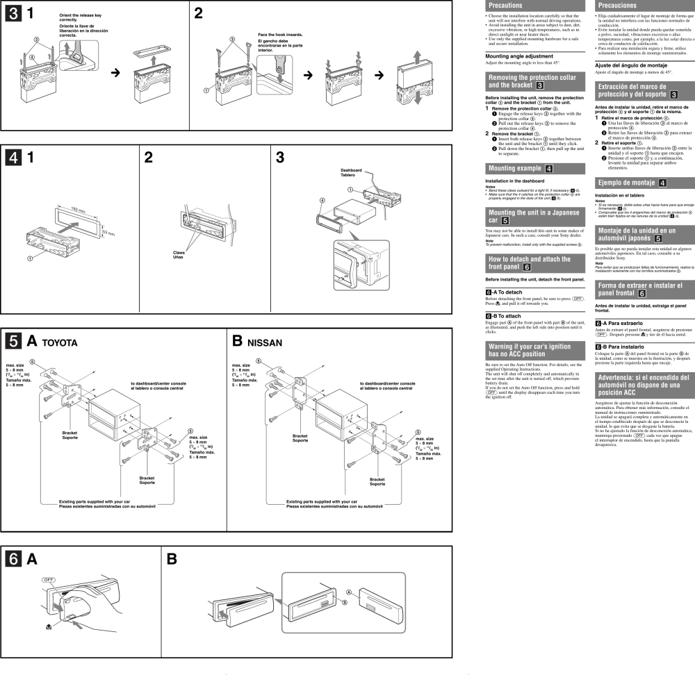 medium resolution of sony cdx gt11w users manual gt21w cdxpage 2 of 2 sony sony cdx gt11w users manual