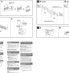 page 2 of 2 sony sony cdx gt240 users manual  [ 3378 x 2193 Pixel ]