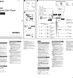 sony cdx gt575up wiring diagram sony cdx gt575up installation connections manualrh usermanual wiki [ 2552 x 2410 Pixel ]