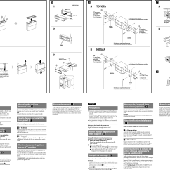 Sony Cdx Gt575up Wiring Diagram Ez Lock Wheelchair Installation Connections Manual Page 2 Of