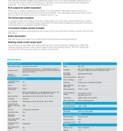 page 2 of 5 sony sony cdx gt57up marketing specifications  [ 1275 x 1597 Pixel ]