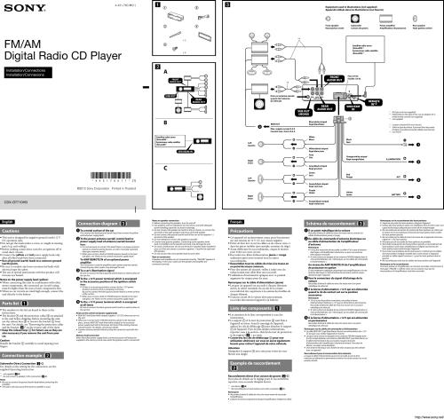 small resolution of sony car radio wiring diagram furthermore xplod sony car