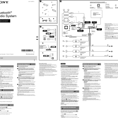 Ford Sony Radio Wiring Diagram Er For Office Management System Color Coded A Xplod To Chevy