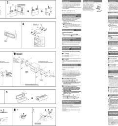 page 2 of 2 sony sony mex bt4000p installation connections  [ 3378 x 2386 Pixel ]