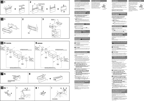 small resolution of page 2 of 2 sony sony mex bt4000p installation connections