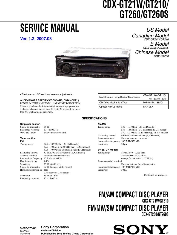 medium resolution of sony cdx gt11w wiring diagram electrical wiring diagrams sony car stereo cdx gt21w wiring diagram
