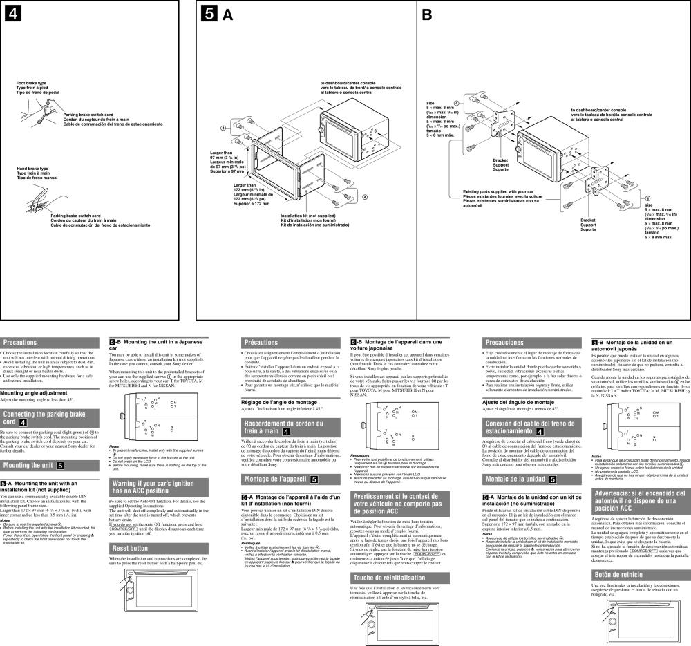 medium resolution of sony xav 60 installation connections manual jensen stereo wiring diagram sony xav 60 wiring diagram