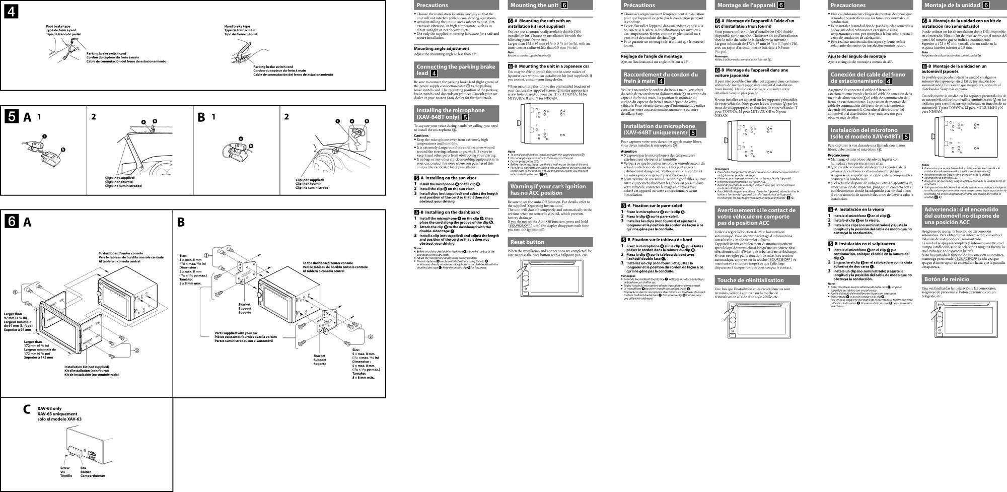 hight resolution of sony xav 63 wiring diagram