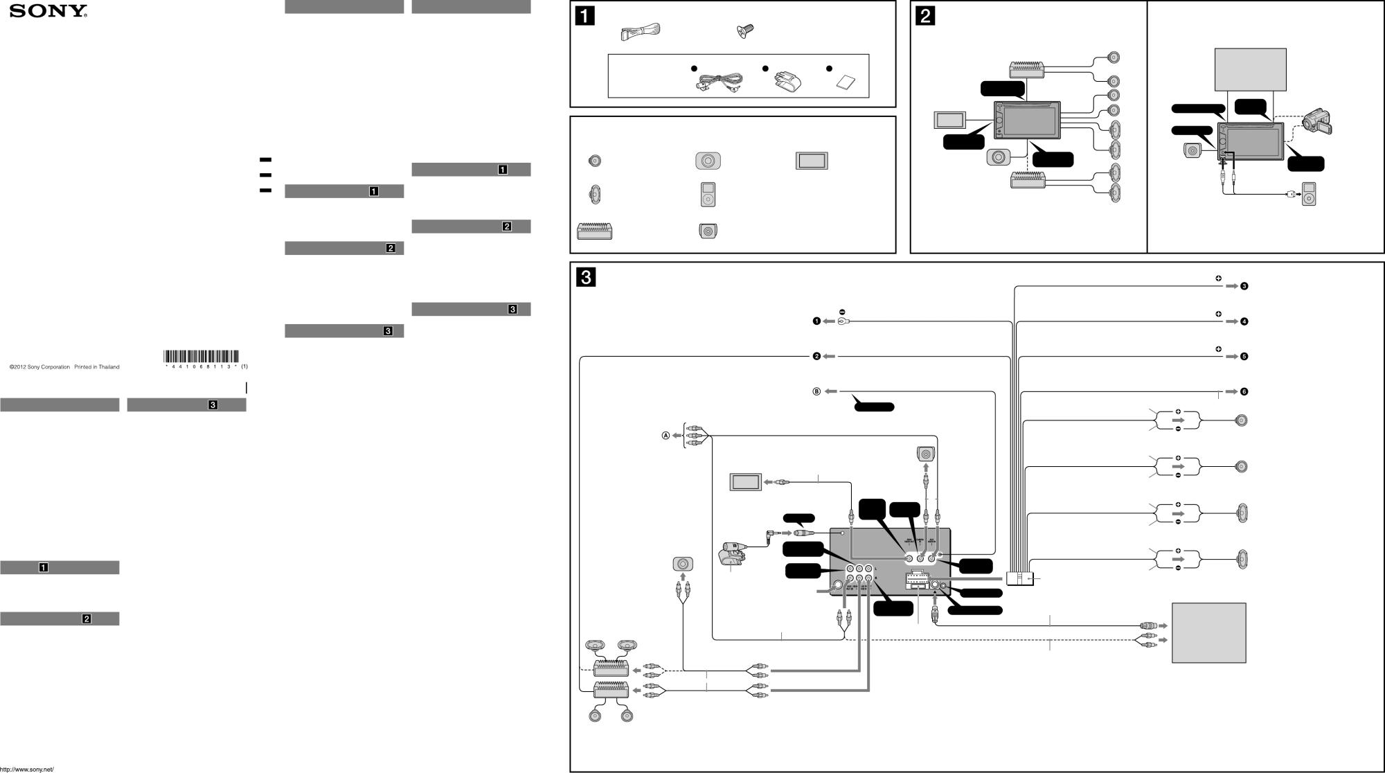 hight resolution of sony xav 64bt wiring diagram wiring diagrams wni sony xav 601bt wiring diagram