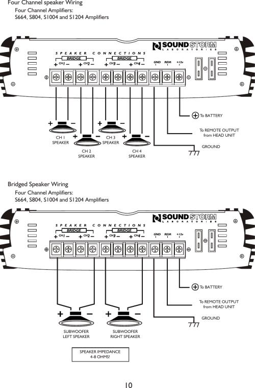 small resolution of 2 bridged speaker wiring diagram