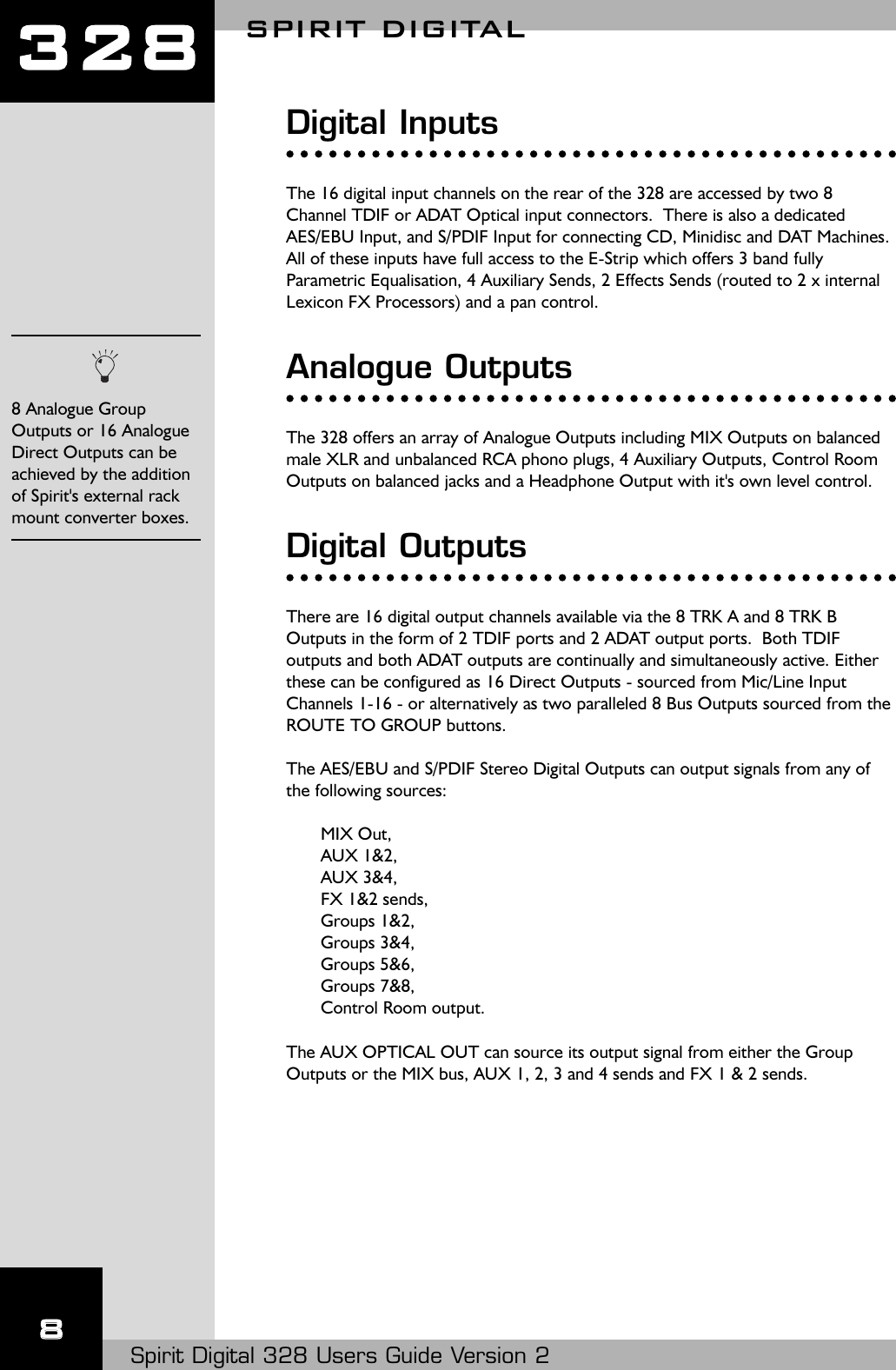 hight resolution of 324 live discontinued array spirit digital 328 users manual introduction rh usermanual wiki