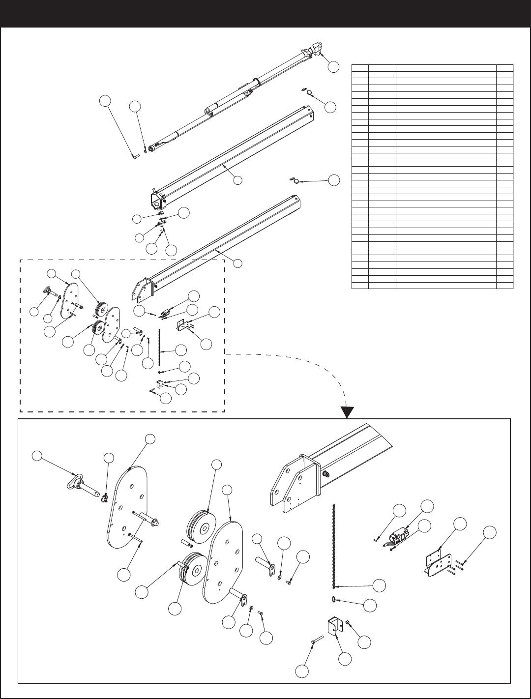 Stellar Industries 5521 Users Manual Telescopic Crane