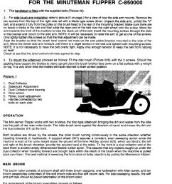 page 2 of 8 diagram and or partslist minuteman flipper walk  [ 1123 x 1541 Pixel ]