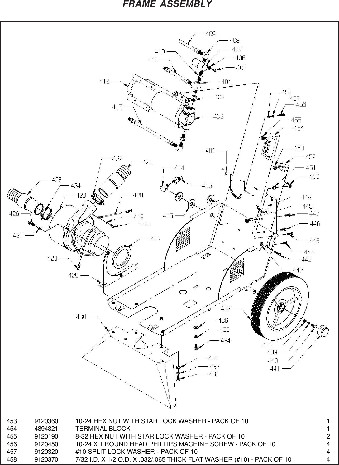Nss stallion 8sc carpet extractor parts manual