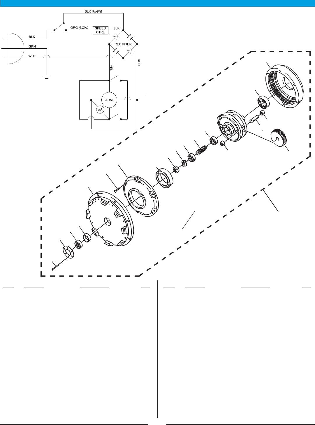Pioneer eclipse 225fp floor care machine operator parts manual