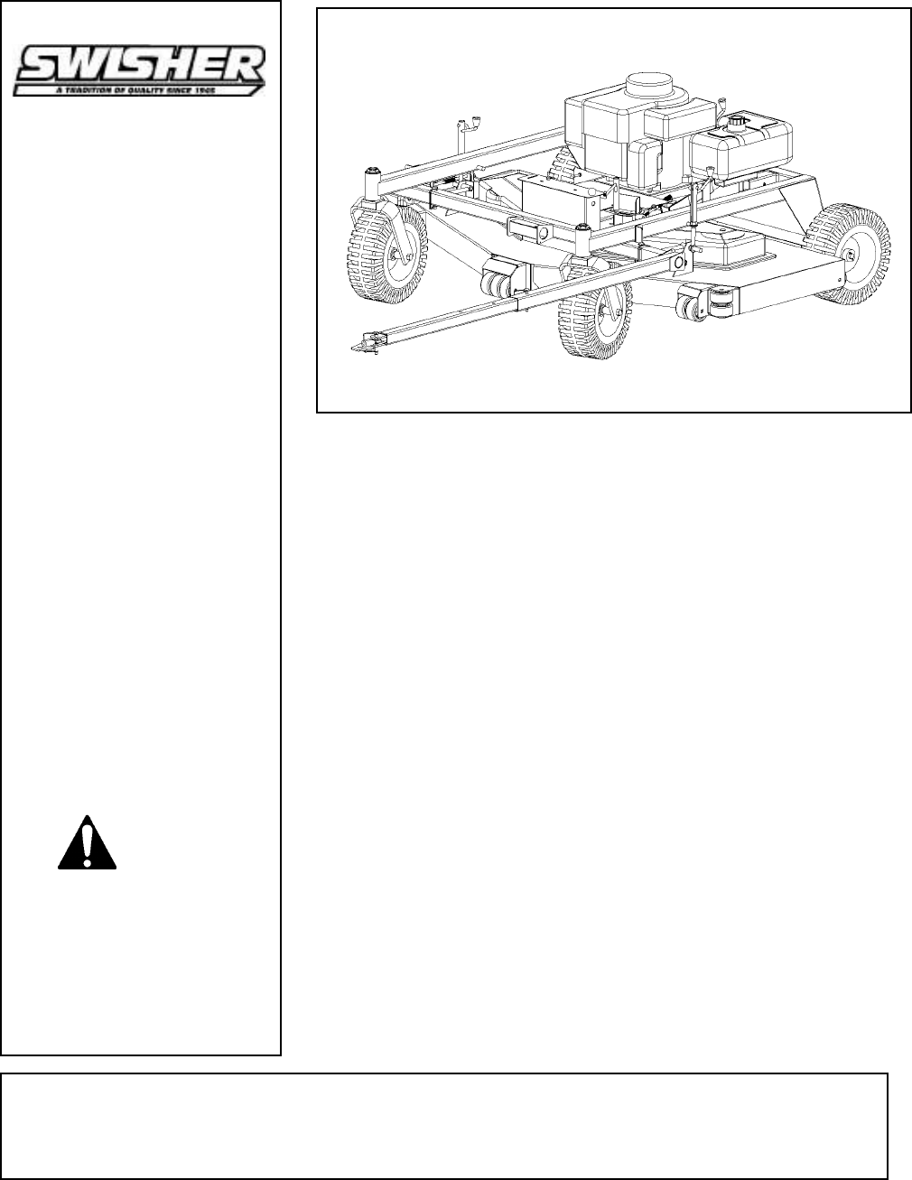 hight resolution of swisher t1260 t1360 t1460 users manual microsoft t60 2000 wiring diagram for swisher t1260