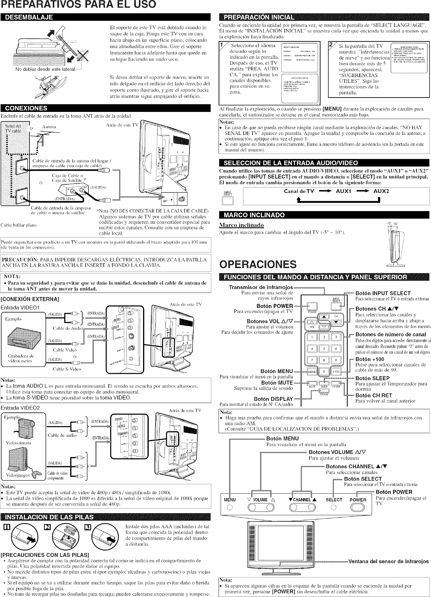 Sylvania 6620LCT User Manual TV LCD Manuals And Guides