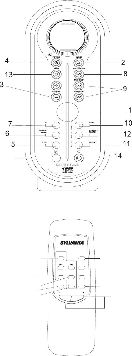 Sylvania Srcd909 Users Manual RCD 909