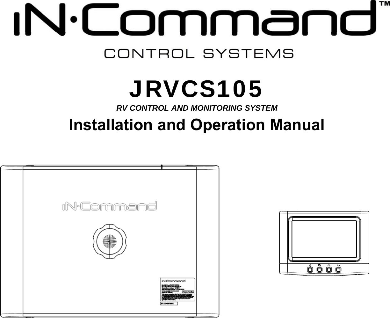 Sysgration Jrvcs105dc Jrvcs105 Display Commander User