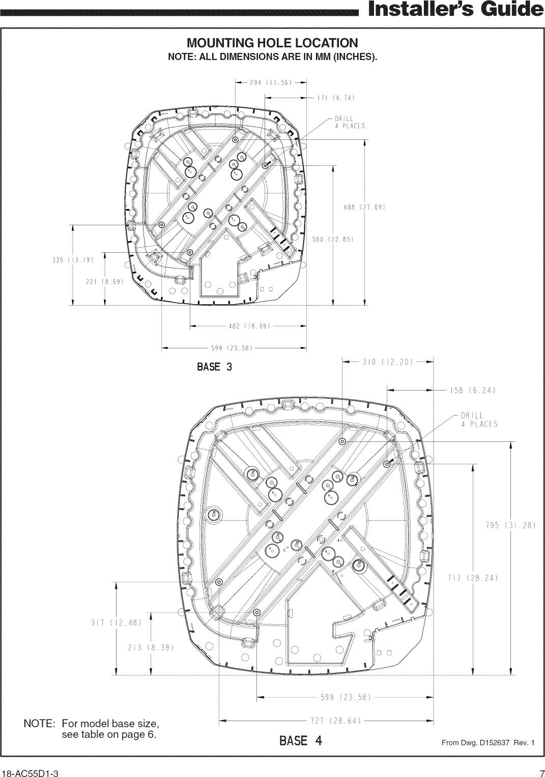 TRANE Air Conditioner/heat Pump(outside Unit) Manual L0904669