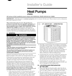trane air conditioner heat pump outside unit manual l0905064 on basic ac wiring trane rooftop  [ 1224 x 1584 Pixel ]