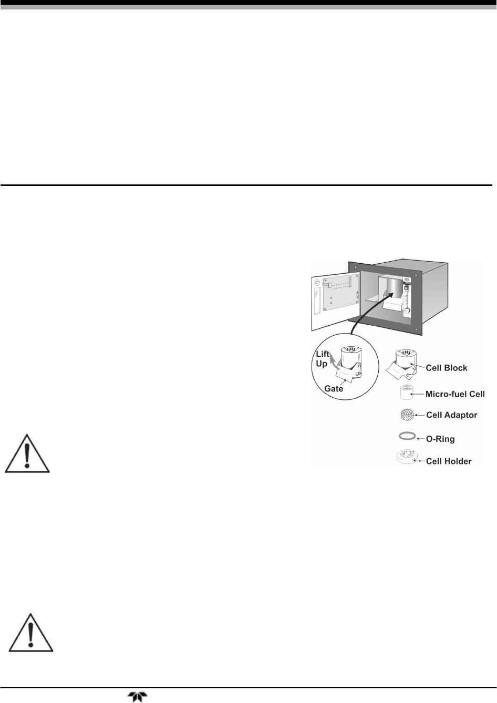 Teledyne Trace Oxygen Analyzer 3000Ta Xl Eu Users Manual