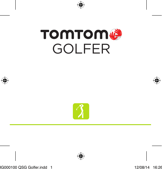 TomTom 8RG0 Golfer GPS watch User Manual