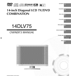 toshiba lcd tv dvd 14dlv75 printed circuit board diagram electrical dvd 14dlv75 printed circuit board diagram electrical schematic and [ 1192 x 1631 Pixel ]