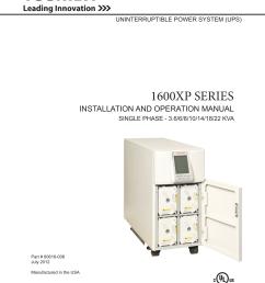 toshiba power supply 1600xp installation and operation manual toshiba 1600 xp wiring diagram [ 1275 x 1461 Pixel ]
