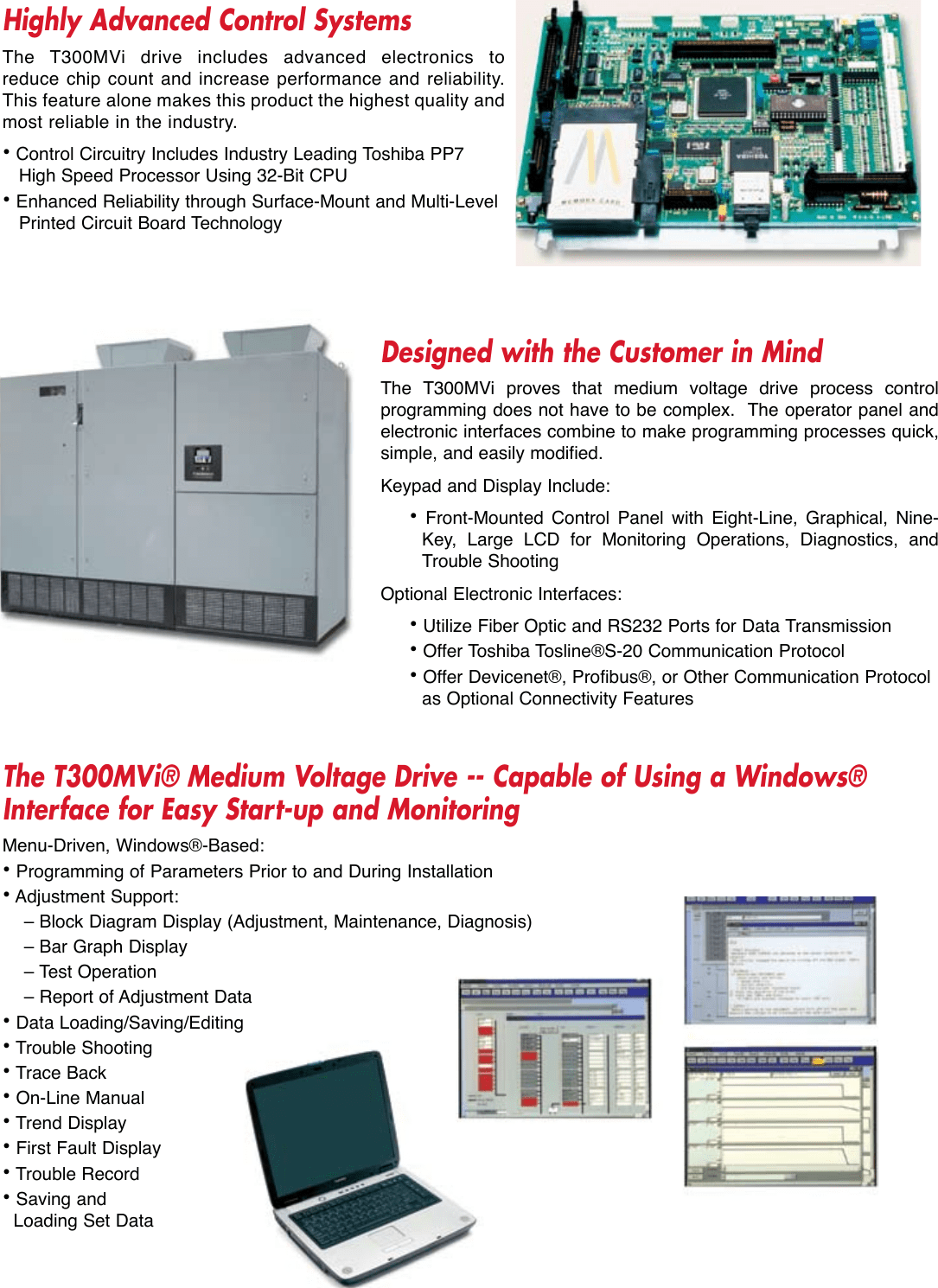 hight resolution of page 3 of 6 toshiba toshiba t300mvi brochure toshiba t300mvi