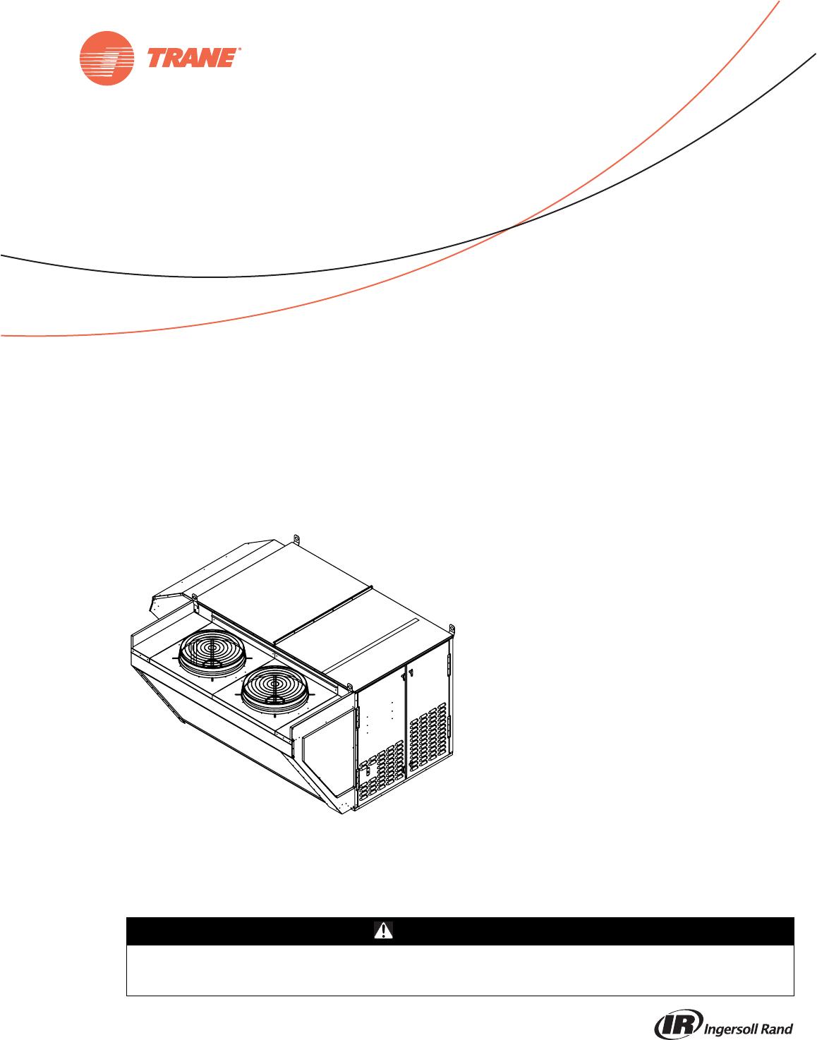 Trane Oa1D Oa2D Oa3D Indirect Gas Fired Electric Heat