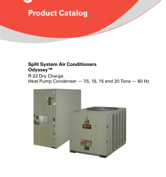 wiring schematic tw on heating and air conditioning trane commercial hvac on trane odyssey 6 to 25 tons catalogue r 22 dry charge product catalog on [ 1275 x 1651 Pixel ]