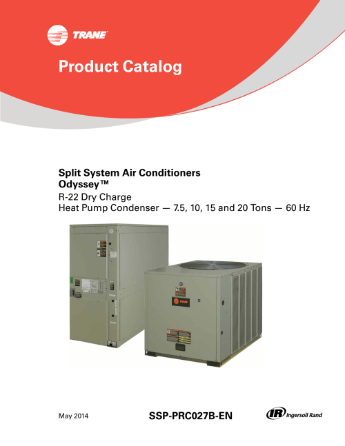 small resolution of  wiring schematic tw on heating and air conditioning trane commercial hvac on trane odyssey 6 to 25 tons catalogue r 22 dry charge product catalog on