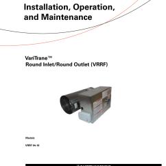 Trane Vav Wiring Diagram 2002 Mustang Headlight Switch Damper Actuator Robertshaw