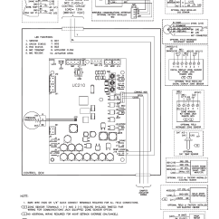 Heat Pump Wiring Diagram Goodman How To Read Relay Trane Xr14 14 Seer