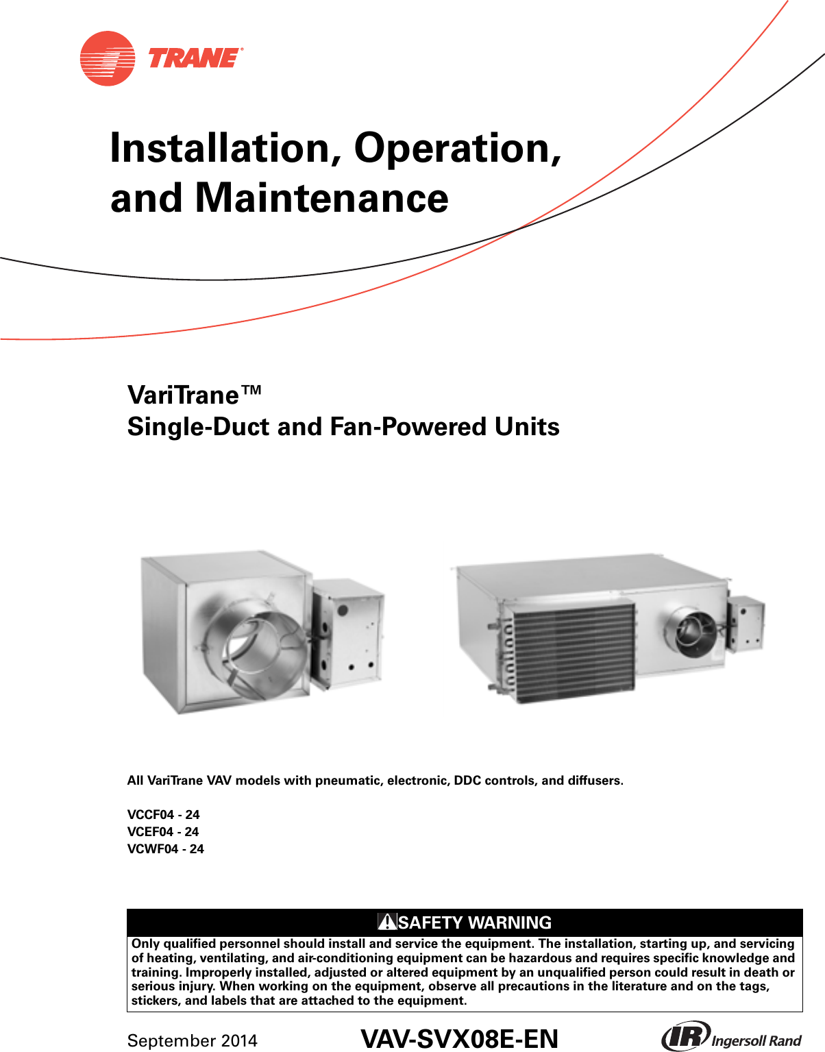 hight resolution of trane round in out installation and maintenance manual vav svx01e en 09 2014
