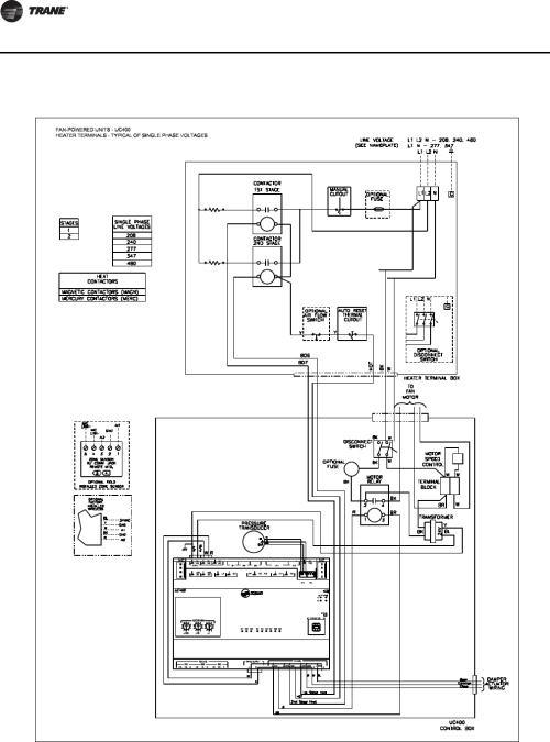 small resolution of uc400 trane wiring diagram everything wiring diagramtrane round in out installation and maintenance manual vav svx07a