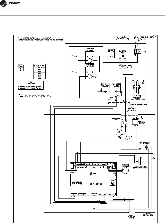 uc 400 wiring diagram trane uc400 trane uc210 wiring diagram  uc400 trane wiring diagram #11