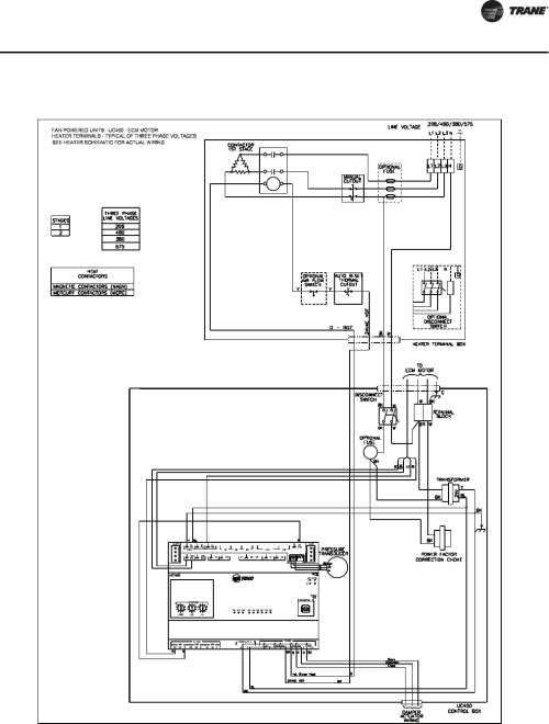 small resolution of trane round in out installation and maintenance manual vav svx07a envav svx07a en 93 wiring diagrams