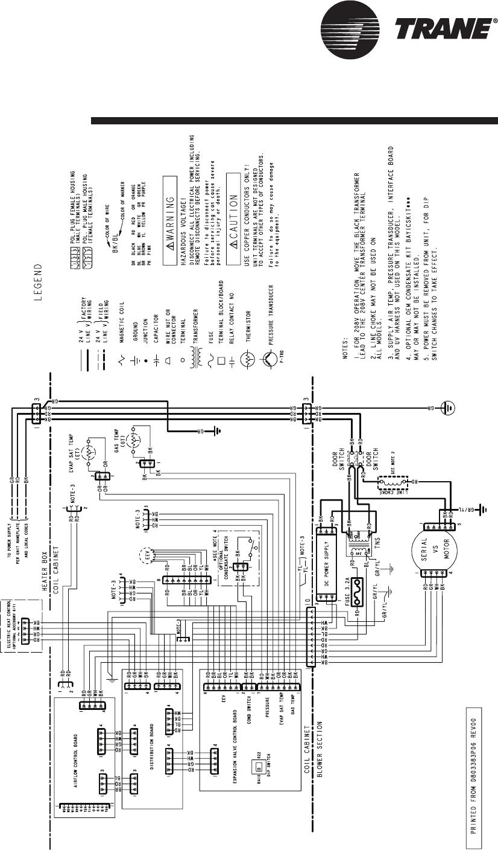 Trane Tam7A0B30H21Sb Users Manual 22 1847 02 03/01/2012