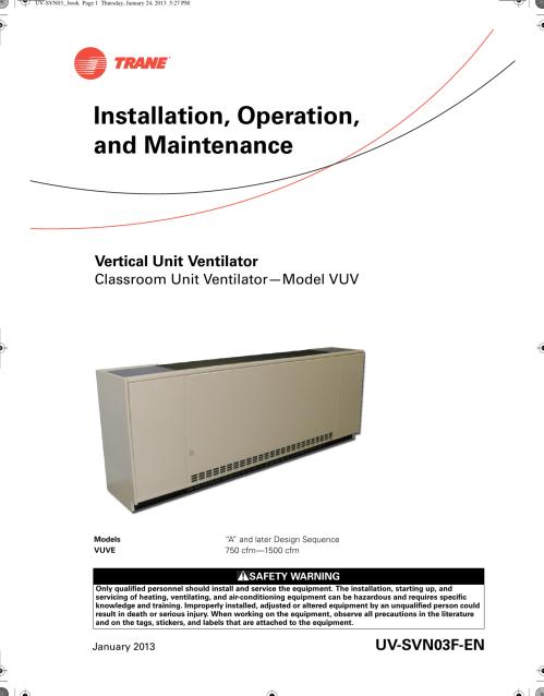 small resolution of uc 400 wiring diagram manual e bookuc400 trane wiring diagram wiring diagram toolboxtrane vuve vertical classroom