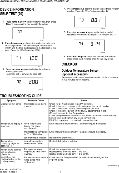 small resolution of wiring diagram trane thermostat tcont401an21maa