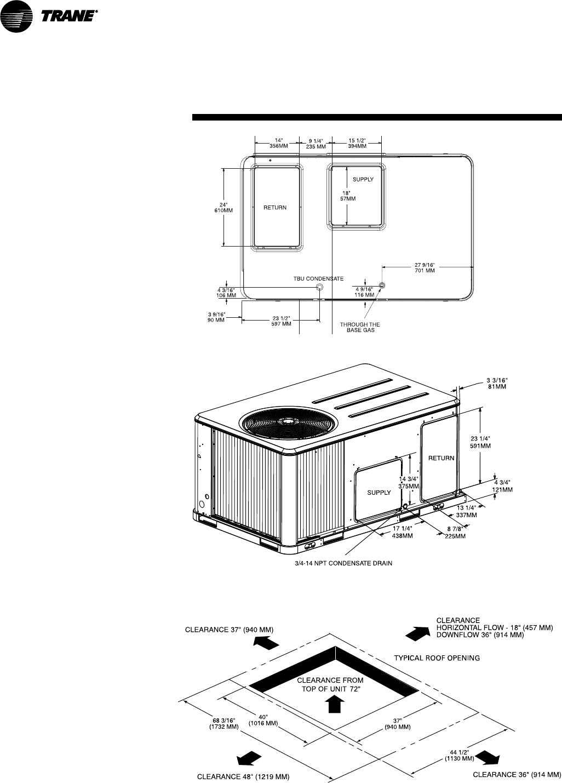 Trane Ysc060 120 Owners Manual RT PRC017 EN 10/03