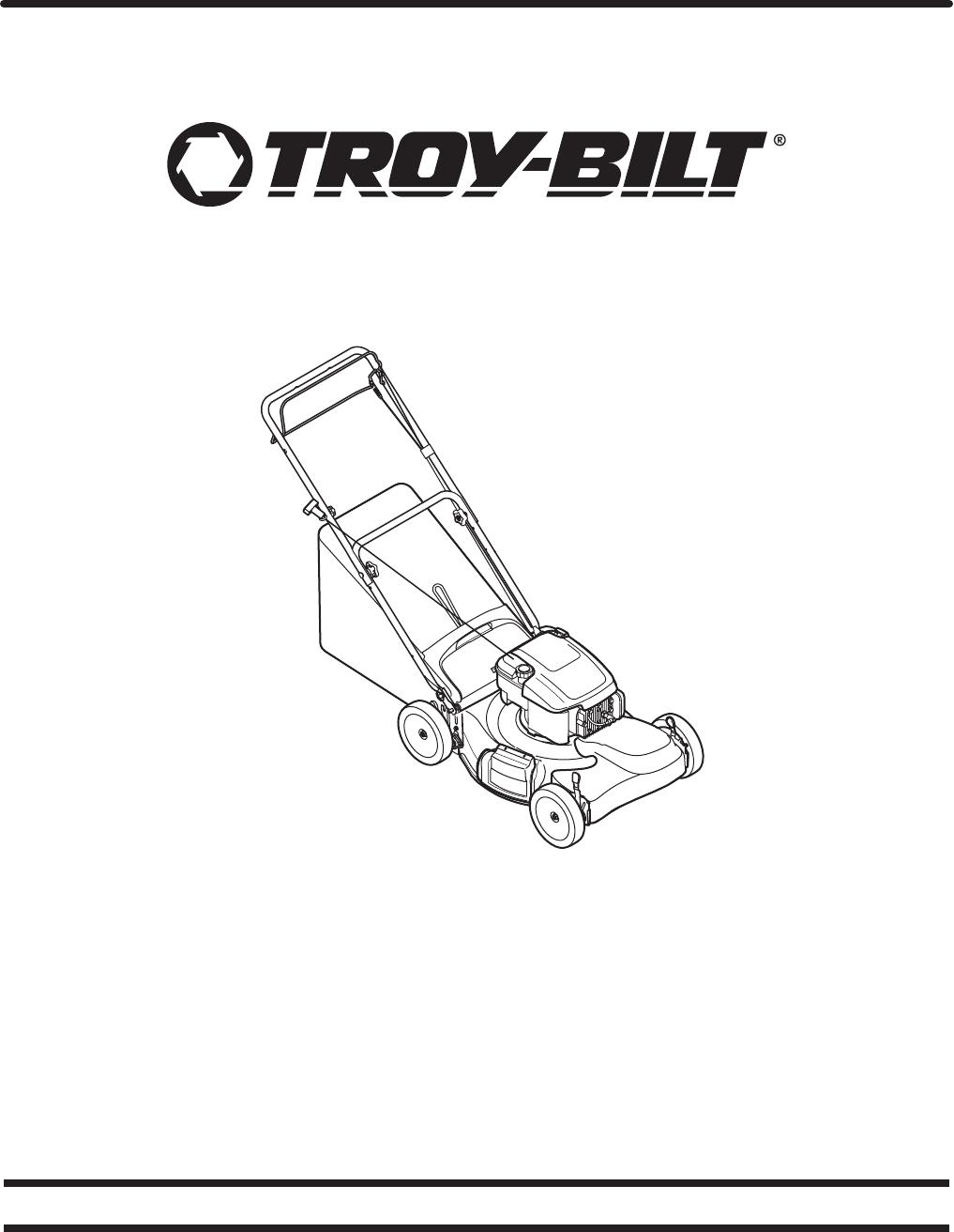 Troy Bilt Tb200 Users Manual