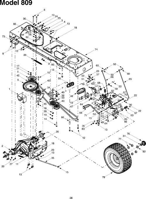 small resolution of troybilt 14ay809p063 user manual garden tractor manuals and guides l0403343