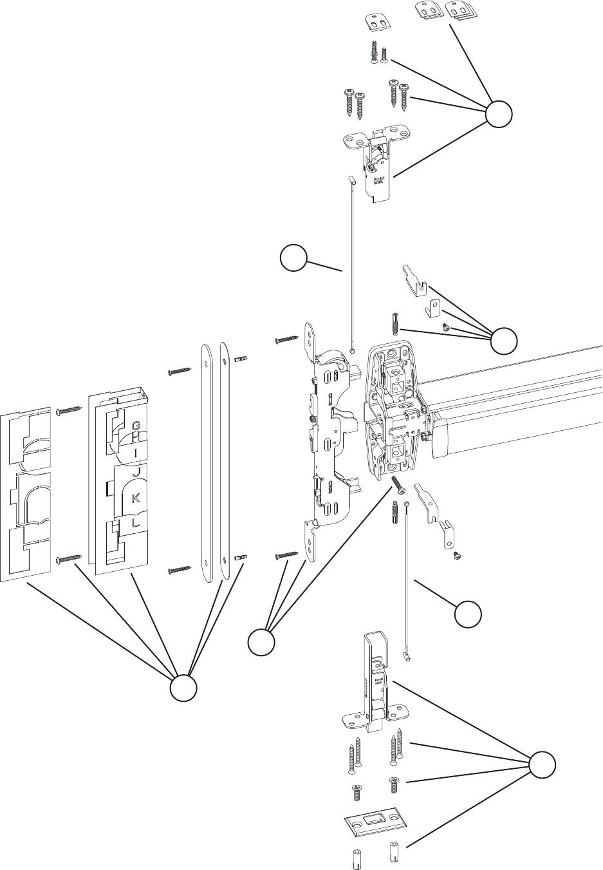 Von Duprin 98/9947 Parts Manual 105675