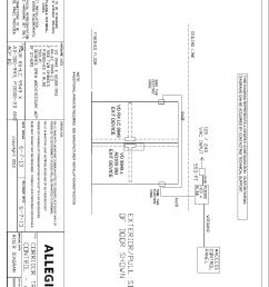 von duprin wiring diagrams wiring diagram centrevon duprin corridor traffic control application illustration and von duprin [ 1040 x 1609 Pixel ]