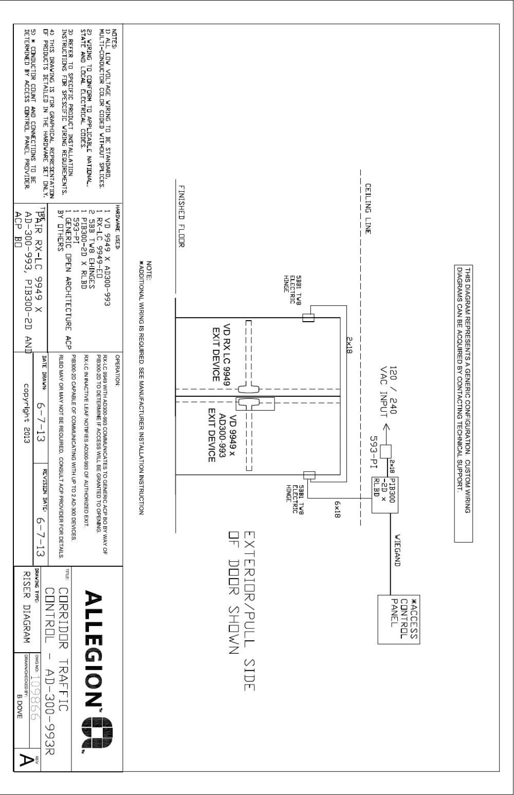 medium resolution of von duprin wiring diagrams wiring diagram centrevon duprin corridor traffic control application illustration and von duprin